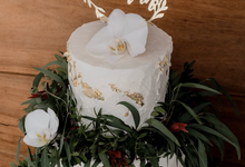Wedding of Raphael & Alice by KAIA Cakes & Co.