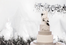 Kevin + Stella Wedding by KAIA Cakes & Co.