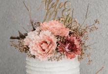 The Wedding of Aldo & Mimi by KAIA Cakes & Co.