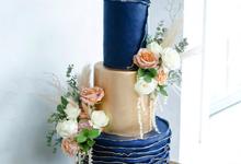 The Wedding of Fin & Vanda by KAIA Cakes & Co.