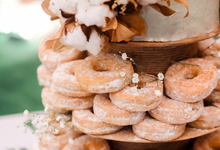 The Wedding of Shara & Bayu by KAIA Cakes & Co.
