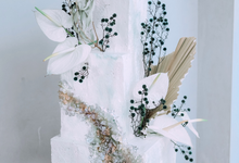 The Wedding of Park Keun Woo & Michelle Hendra by KAIA Cakes & Co.
