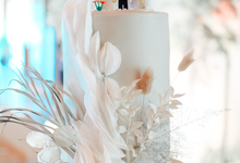 The wedding of Nicholas & Cindy by KAIA Cakes & Co.