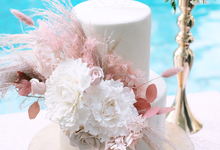 The Wedding of Donny & Tasya by KAIA Cakes & Co.