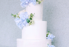 The Wedding of Nicho & Frieska  by KAIA Cakes & Co.