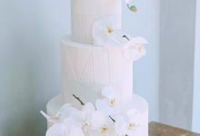 The Wedding of James & Monika by KAIA Cakes & Co.
