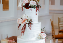 The Wedding of Giovanni & Edith  by KAIA Cakes & Co.