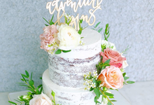The Wedding of Ino & Cindy by KAIA Cakes & Co.