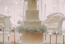 The Wedding of Joni & Selvia by KAIA Cakes & Co.