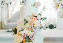 The wedding of Alexius & Henni by KAIA Cakes & Co.