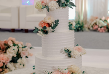 The Wedding of Felix & Silvia by KAIA Cakes & Co.