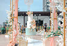 The Wedding of Aditya & Amabel by KAIA Cakes & Co.