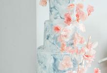 The wedding of Yos & Widdia by KAIA Cakes & Co.