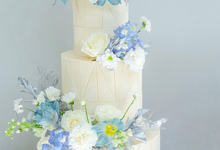 The wedding of Ferry & Kartika by KAIA Cakes & Co.