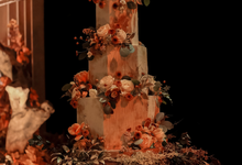 The wedding of Fritz & Jessline  by KAIA Cakes & Co.