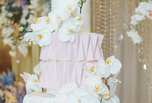 The wedding of Rudi & Fanny by KAIA Cakes & Co.