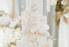 The wedding of Calvin & Gabby by KAIA Cakes & Co.