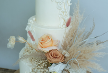 The wedding of Felix & Clarissa by KAIA Cakes & Co.