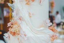 The wedding of Michael & Holivia by KAIA Cakes & Co.