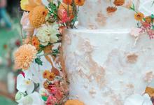 The wedding of Anton & Hanna by KAIA Cakes & Co.