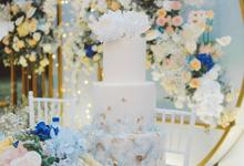 The wedding of  Lukito & Ria by KAIA Cakes & Co.