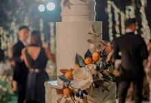 The wedding of Nico & Silvia by KAIA Cakes & Co.