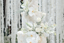 The wedding of Sulaeman & Claudia by KAIA Cakes & Co.