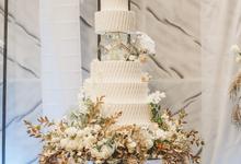 The wedding of David & Levana by KAIA Cakes & Co.