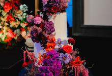 The wedding of Aditya & Felicia by KAIA Cakes & Co.