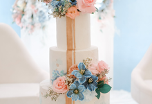 The wedding of Marcel & Emilya by KAIA Cakes & Co.