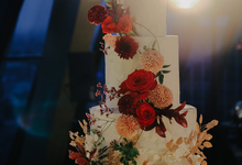 The Wedding Michael & Resta  by KAIA Cakes & Co.