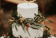 The Wedding of Alfred & Mega by KAIA Cakes & Co.