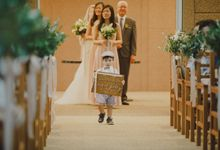 WH + KQ  (Rustic White Church Wedding) by Huahee