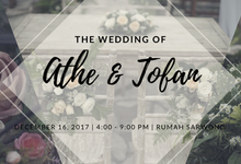 Wedding of Gharnis Athe & Tofan Permana by Kala Senja Wedding Organizer