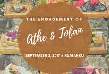 Engagement of Gharnis Athe & Tofan Permana by Kala Senja Wedding Organizer