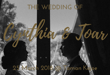 Wedding of Cynthia & Toar by Kala Senja Wedding Organizer