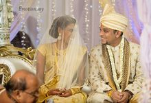 Ceylonese Wedding of Anand & Annushia by Emotion in Pictures by Andy Lim