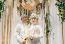 The wedding of Dilla & Nugi by Kalana Wedding