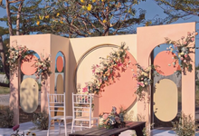 Flying Round Outdoor Concept for Intimate Wedding by Kalea Design