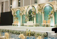 Modern Geometrical Wedding by Kalea Design