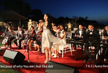 AYANA RESORT & SPA BALI Titian & Sirena Engagement by Kaleb Music Creative