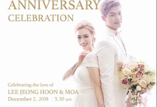LEE & MOA 1st WEDDING ANNIVERSARY CELEBRATION by Kaleb Music Creative