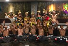 Kecak Dance 'Love story of Rama Shita' by Kamala entertainment centre