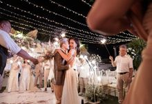 The Wedding of Kim Kurniawan  & Elisa Novia part 3 by Legacy Organizer