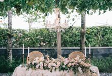 Romantic Elegant with Blush colour by Reena Event Stylist House