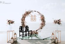 Intimate Romantic Tea Cerenony and Dinner Reception by Reena Event Stylist House