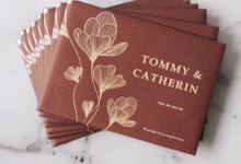 Tommy & Catherin by Kami Paperie