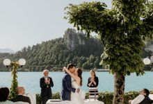 Summer Wedding At Lake Bled Slovenia by Wedding Lake Bled