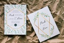 Customised Invitation cards by Kanvela