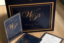 Invitation and printing set by Kanvela